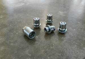 Genuine Scion Wheel Locks for Scion tC, xB, xD, xA, and iQ-New, OEM