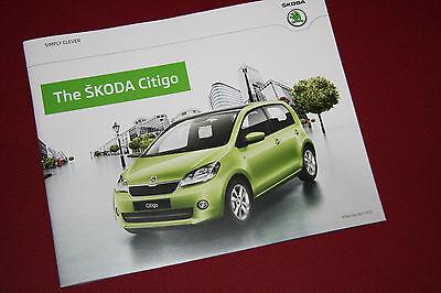 Skoda Citigo Brochure April 2012