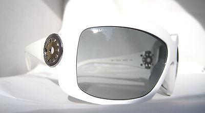 BVLGARI Womens 851 740/11 White Sunglasses Authentic