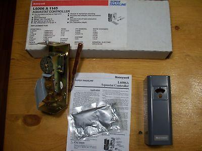 Honeywell L6006a1145 Spdt Aquastat Controller Range 100f- 240f Diff 5f - 30f
