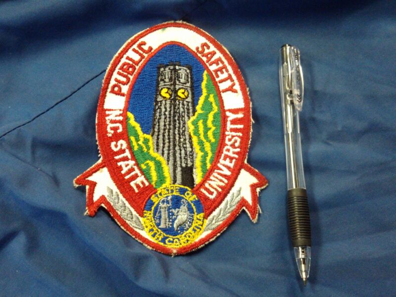 OBSOLETE OLD DESIGN NORTH CAROLINA STATE UNIVERSITY PUBLIC SAFETY n.c. nc police