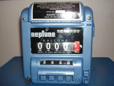 Neptune Meter Register Model 434 5 Warranty Oil Gas Petroleum Diesel Fuel Lube