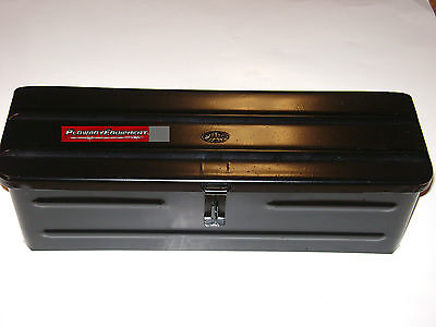 Steel Black Tractor Tool Box 5a3bl For Allis Case Ih Kubota Massey White Oliver