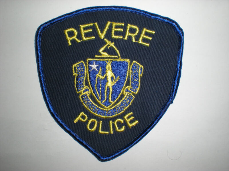 REVERE, MASSACHUSETTS POLICE DEPARTMENT  PATCH