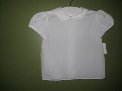 Girls Peter Pan Collar Blouse Uniform Shirt Costume White Pipe Chocolate Soup ](Girl Peter Pan Costume)