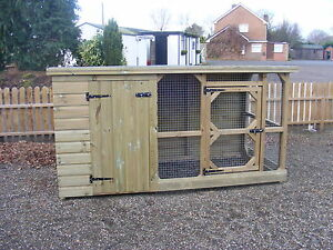 DOG RUN /CAT HOUSE AND KENNEL ***UK DELIVERY AVAILABLE***