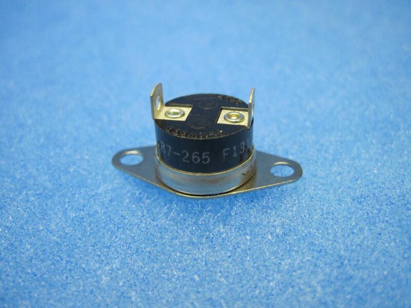 Elmwood 2450 Thermal Sensor (Bimetal Thermostat) NORMALLY OPEN N.O. 87-265 F131