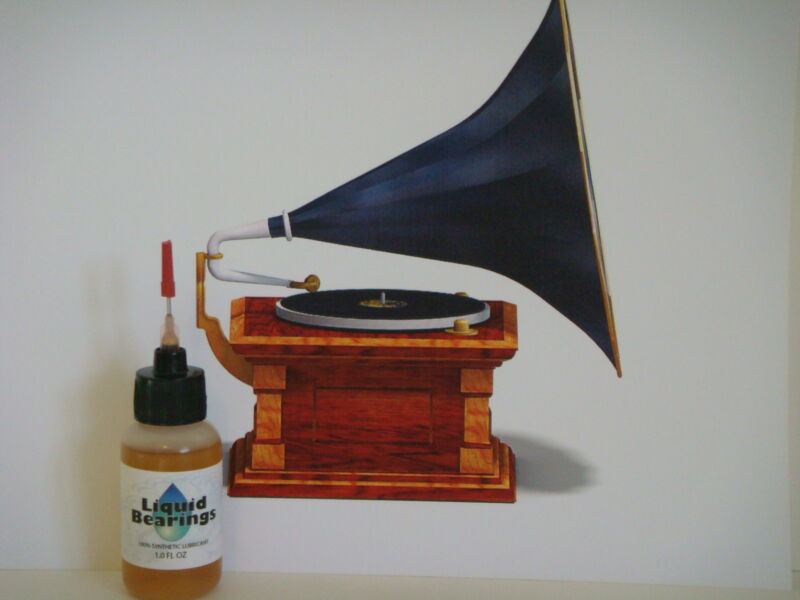 Liquid Bearings, BEST 100%synthetic oil for Victor phonographs, READ THIS!