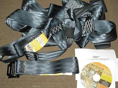 Direct Outdoor Fall Body Harness w/Fall Arrest System 02-BHFAS1-010