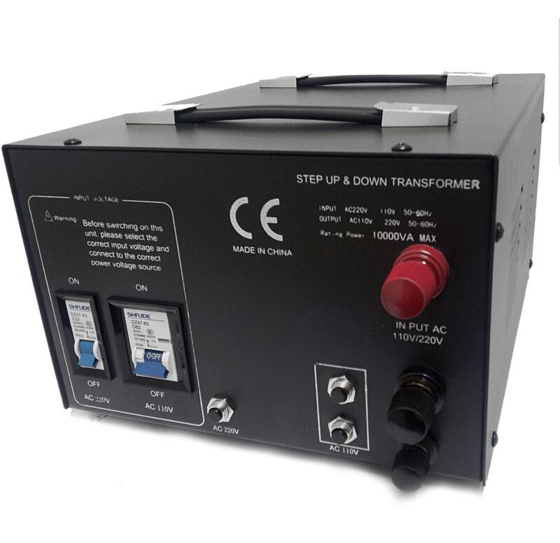 LiteFuze LT-10000 Voltage Converter Step Up/Down 110/220 Transformer Heavy Duty
