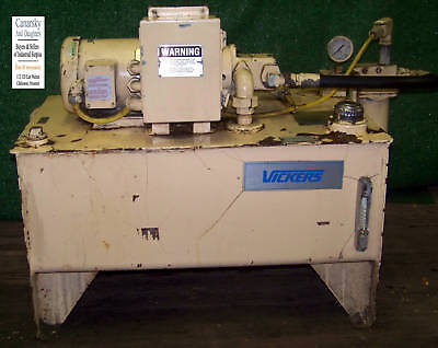 1 Used Vickers Hydraulic Power System 1-12hp Make Offer