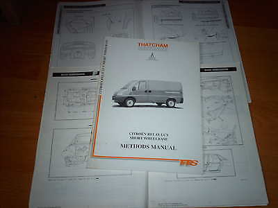 Body Repair Manual Citroen Relay LCV SWB 1994 on