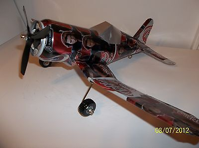 Aluminum soda can handcaft airplane/DIET DR.PEPPER AVENGERS (BLACK WIDOW)CORSAIR