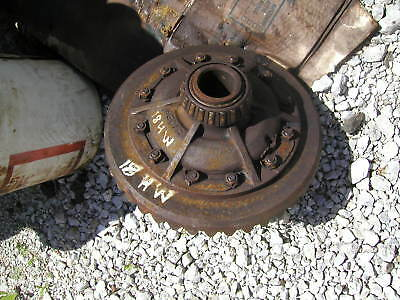 Massey Harris 81 Tractor Mh Main Transmission Rear Pinion Gear Drive Assembly