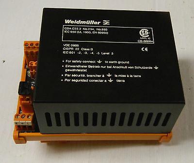 Weidmuller Power Supply 991748 115-230 Vac Snt 50w Csa C22.2 24 Vdc