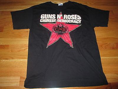 "GUNS N' ROSES (GNR) ""CHINESE DEMOCRACY"" Best Buy (LG) T-Shirt AXEL ROSE"