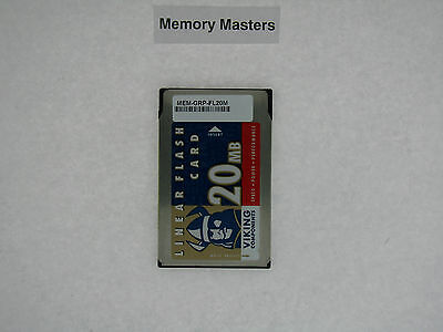 MEM-GRP-FL20M 20MB Approved PCMCIA Flash Card Memory for Cisco 12000 series (20mb Cisco Approved Flash Card)