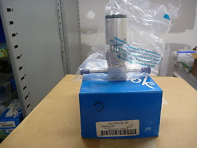 Swagelok H22-bn5459-2o 14 Hastelloy 3-way Bellows Valve W Tube Extensions
