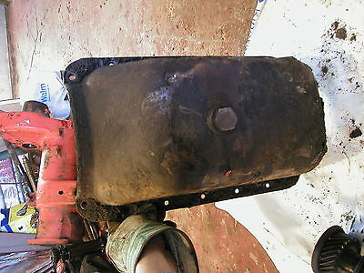 Massey Harris 81 Tractor Continental Motor Engine Oil Pan