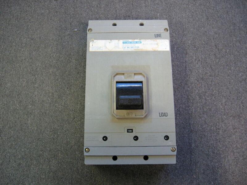 GOULD ITE CIRCUIT BREAKER 1200 AMP MAX 600V 3P HK3-F120 900 AMP TRIP HK3-T900