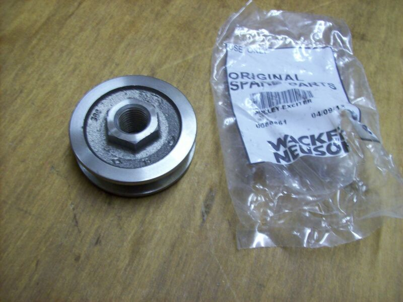 Wacker Wp1550aw Exciter Pulley - Oem Part - Fits Wp1540, Wp1550 0088861
