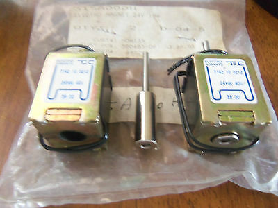New Electro Aimants 7142.10.0212 Electro Magnet 24v 18w 315a000h Lot Of 2