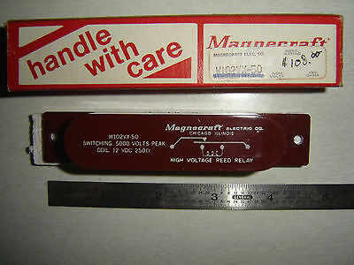 Relay High Voltage 5kv Contacts 12v Coil Nib W102vx-50 Struthers Dunn Magnecraft