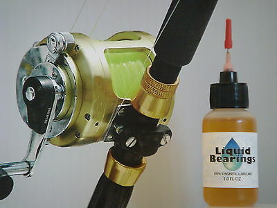 Liquid Bearings, BEST 100%-synthetic oil for Pelagic Big Game reels, READ