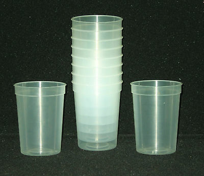Glow In The Dark Drinking Glasses (12- Small Glow in the Dark Plastic Drinking Glasses Mfg USA Lead Free)