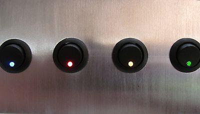 B2 Fabrication 12v Multi Pack Led Illuminated Rocker Switch Toggle Switch Qty 4