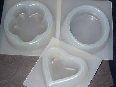 (Resin Mold Candle Holder Candy Dish 4-5