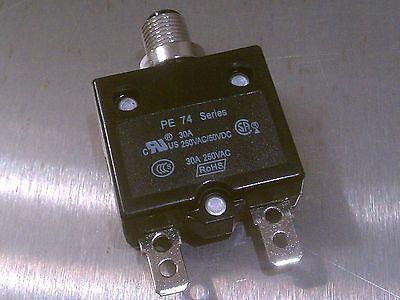 Powerpro Pe74 Circuit Breaker 30a 250vac 50vdc Fits 4kw Generator