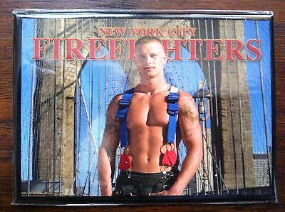 NEW YORK CITY Firefighters magnet NEW second series Brooklyn Bridge