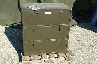 Storageparts Cabinet 3-door 7125-00-559-6223