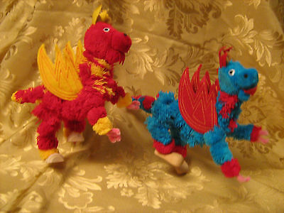Yarn Dragon Marionette Puppet