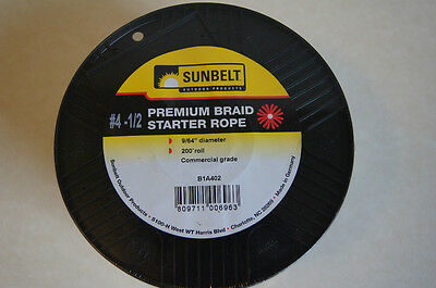 PREMIUM BRAID STARTER ROPE #4 1/2   9/64