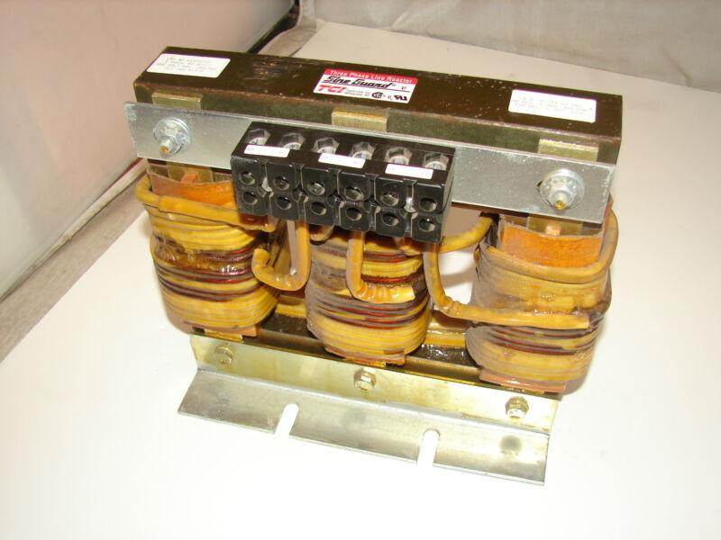 TCI/TRANS-COIL KLA55CTB LINE REACTOR 55AMP ***XLNT***