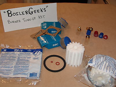Screen Filter Kit - OIL BURNER TUNE-UP KIT (1 of each---Nozzle / Fuel Oil Filter / Strainer Screen)