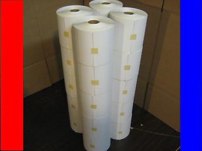 20 4x6 Zebra Direct Thermal Jumbo Rolls 4008000 Labels