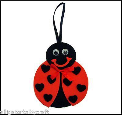 Spring Crafts For Kids (Ladybug Spring Door Hanger Craft Kit for Kids)
