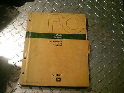John Deere 1530 Tractor Parts Catalog Original Dealer Parts