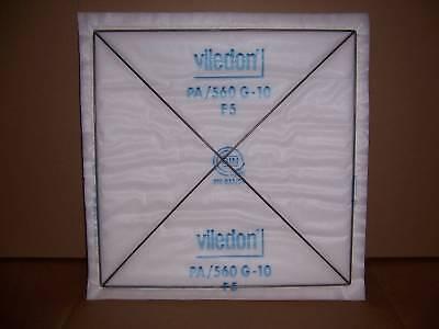 Viledon Pa560 Filter Panels Spray Paint Booth 20x20