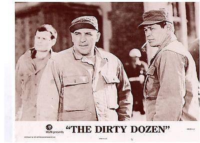 THE DIRTY DOZEN 1975 Lee Marvin Lobby 8 card