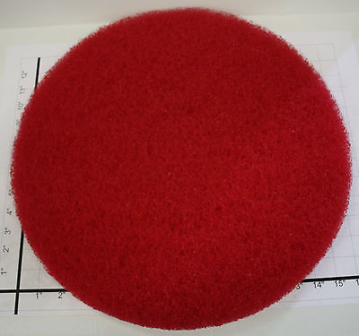 Lot Of 5 Norton 17 Floor Maintenance Stripping Pad Red Buffers Burnisher