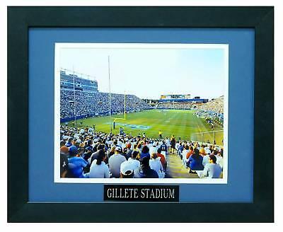 Gillette Stadium Framed - GILLETTE STADIUM (PATRIOTS) 8X10 PHOTO FRAMED TO 11X14