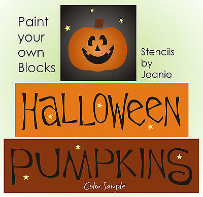 Happy Halloween Stencil (Stencil Halloween Pumpkins Happy Jack Lantern Stars Art Sign Country Prim)