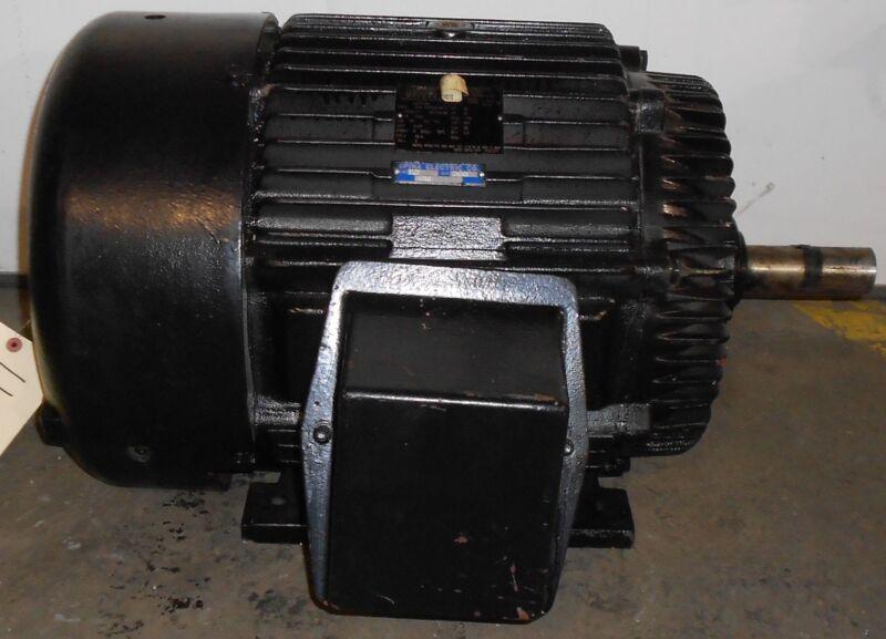 SLS1B12 Reman - Lincoln Motors 20 HP Electric Motor 1180 RPM  #11542WT