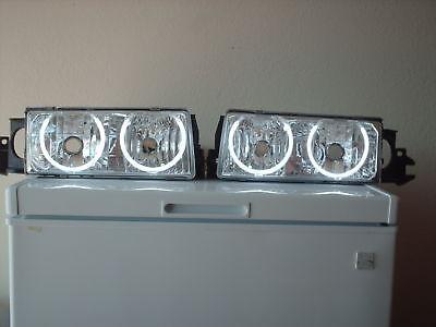 Chevy Caprice Impala SS Headlight hid HALO Demon Eyes 9c1 buick roadmaster (Buick Roadmaster Wagon Headlight)