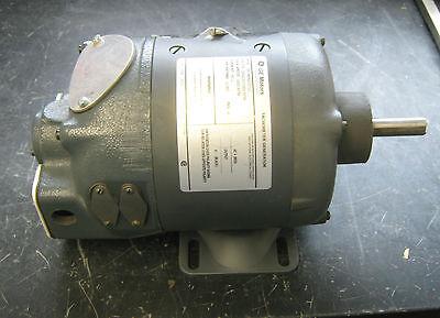 Ge Motors Tachometer Generator Mod 5bc46ab1572c Rated 200v 1000rpm