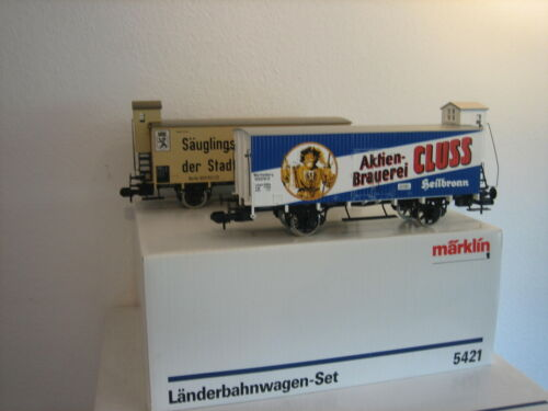 Märklin Gauge 1 5421 Freight Wagon Set Länder Railway Car New Condition Boxed